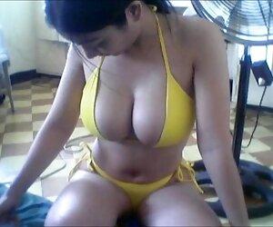 ¡La asiática Cristi Ann muestra sus nalgas videos lesvicos en español y se masturba!